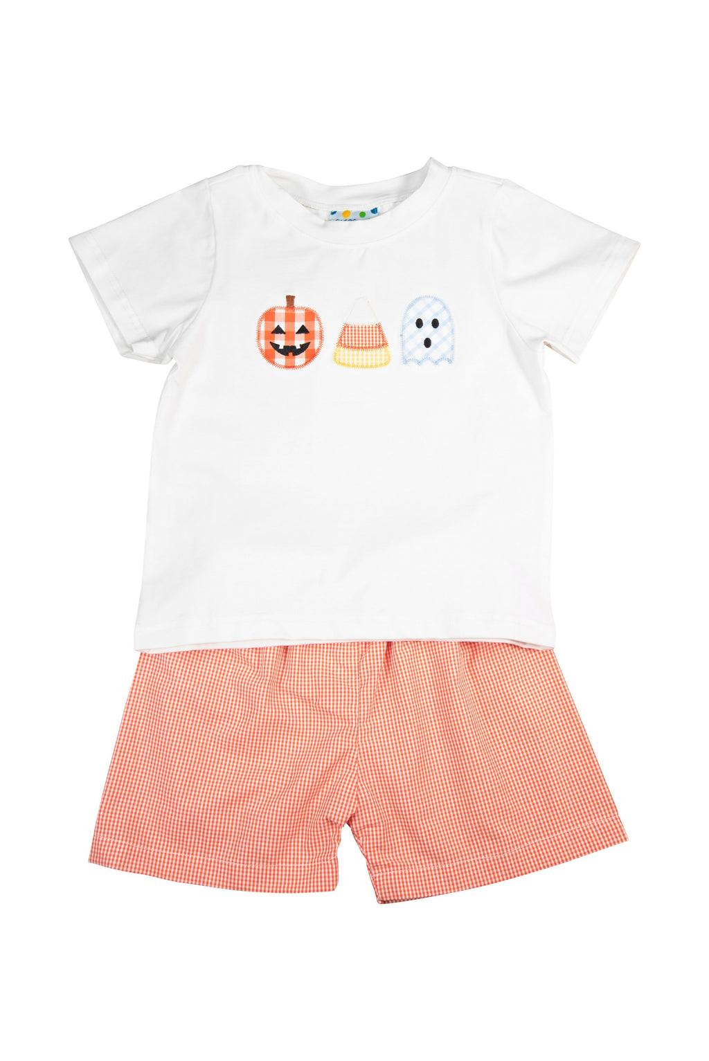 Boys Trick or Treat Shorts Set