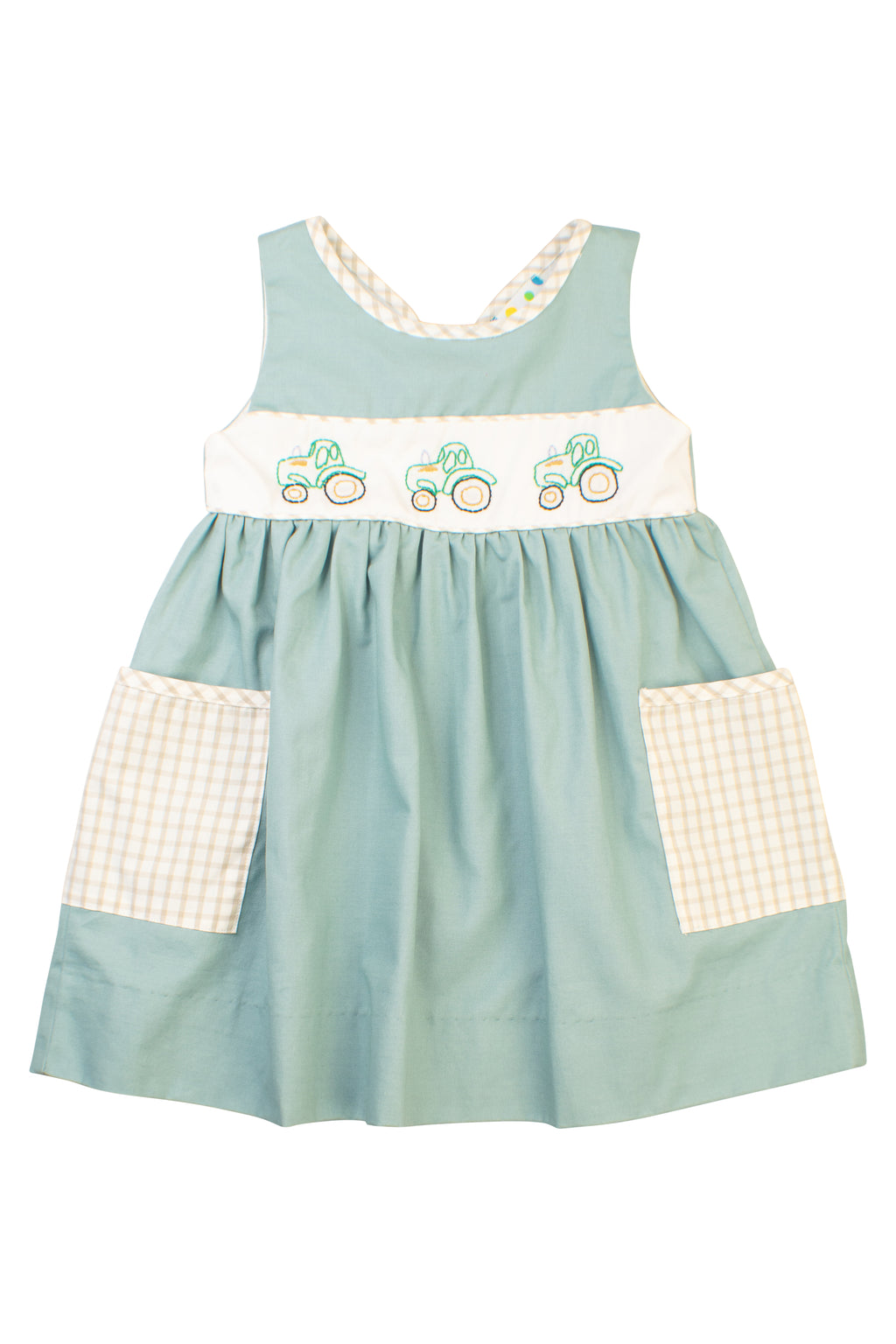 Girls Tractor Time Dress