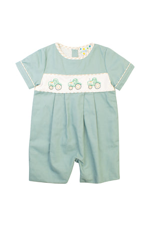 Boys Tractor Time Romper