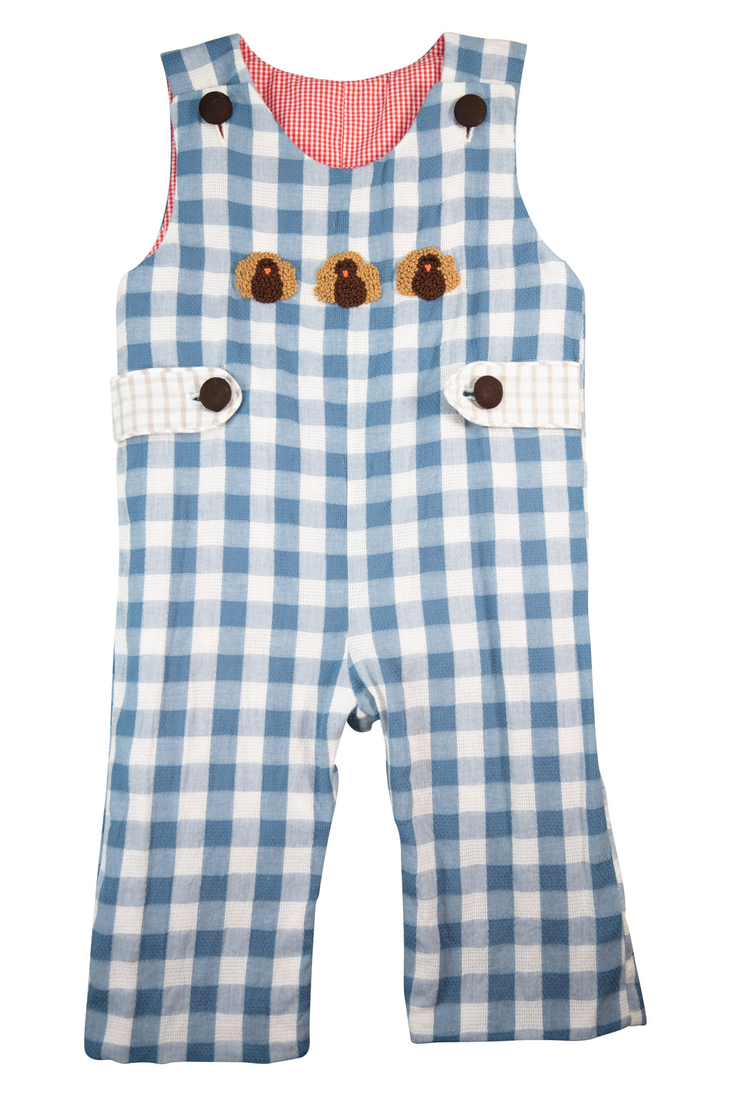 Boys Holiday Reversible Longall