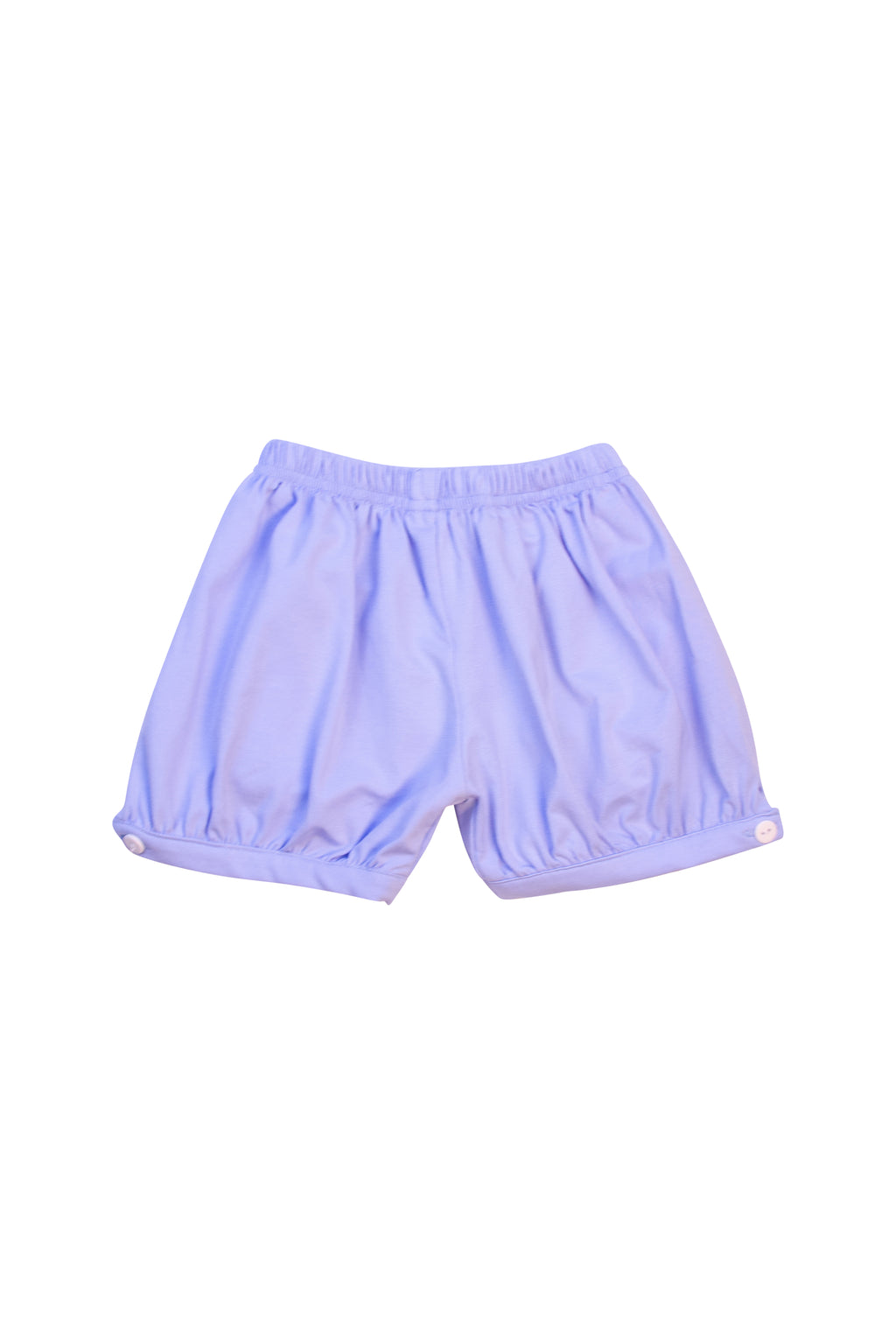 Boys Blue Knit Banded Shorts