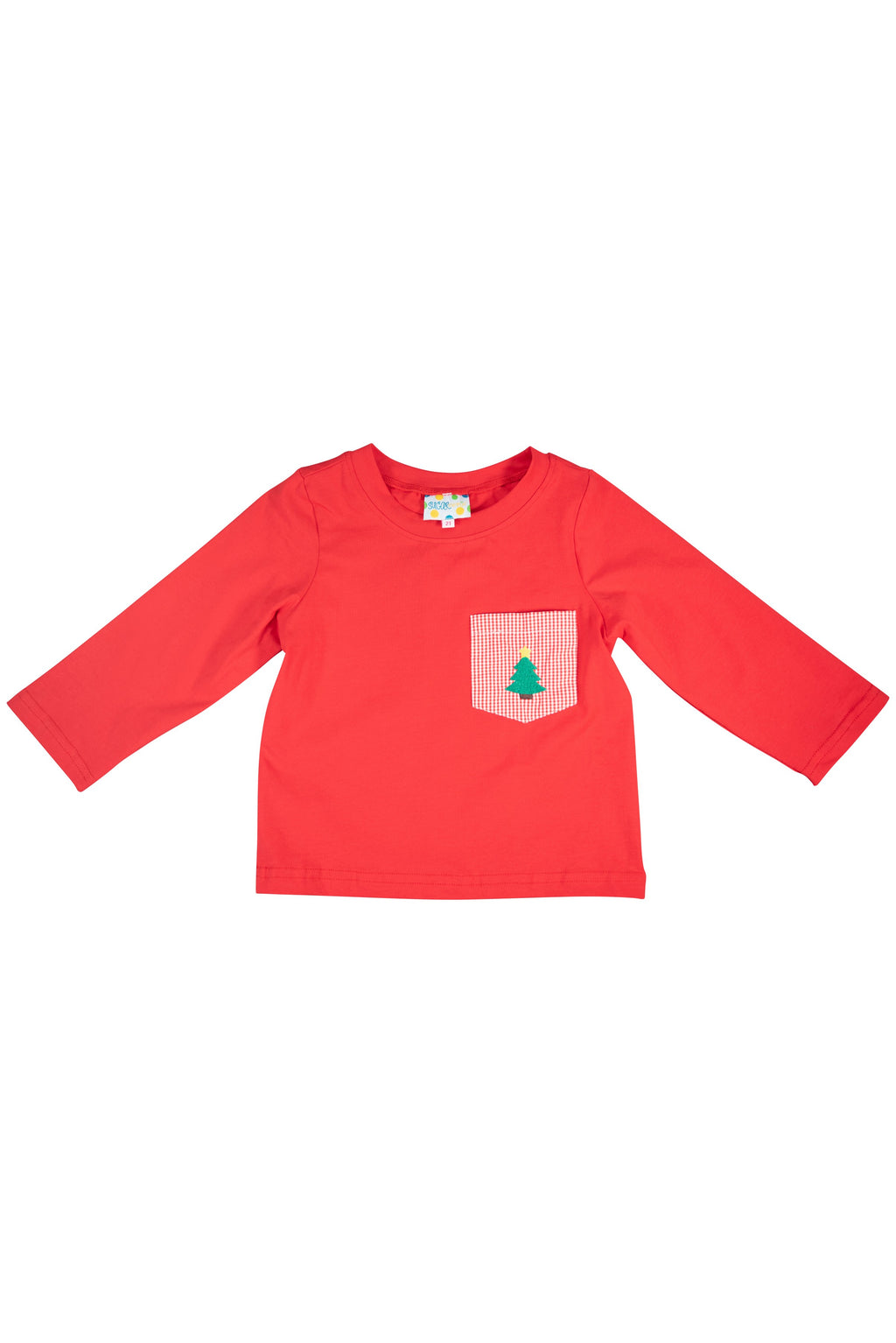 Boys Red Holiday Shirt Only