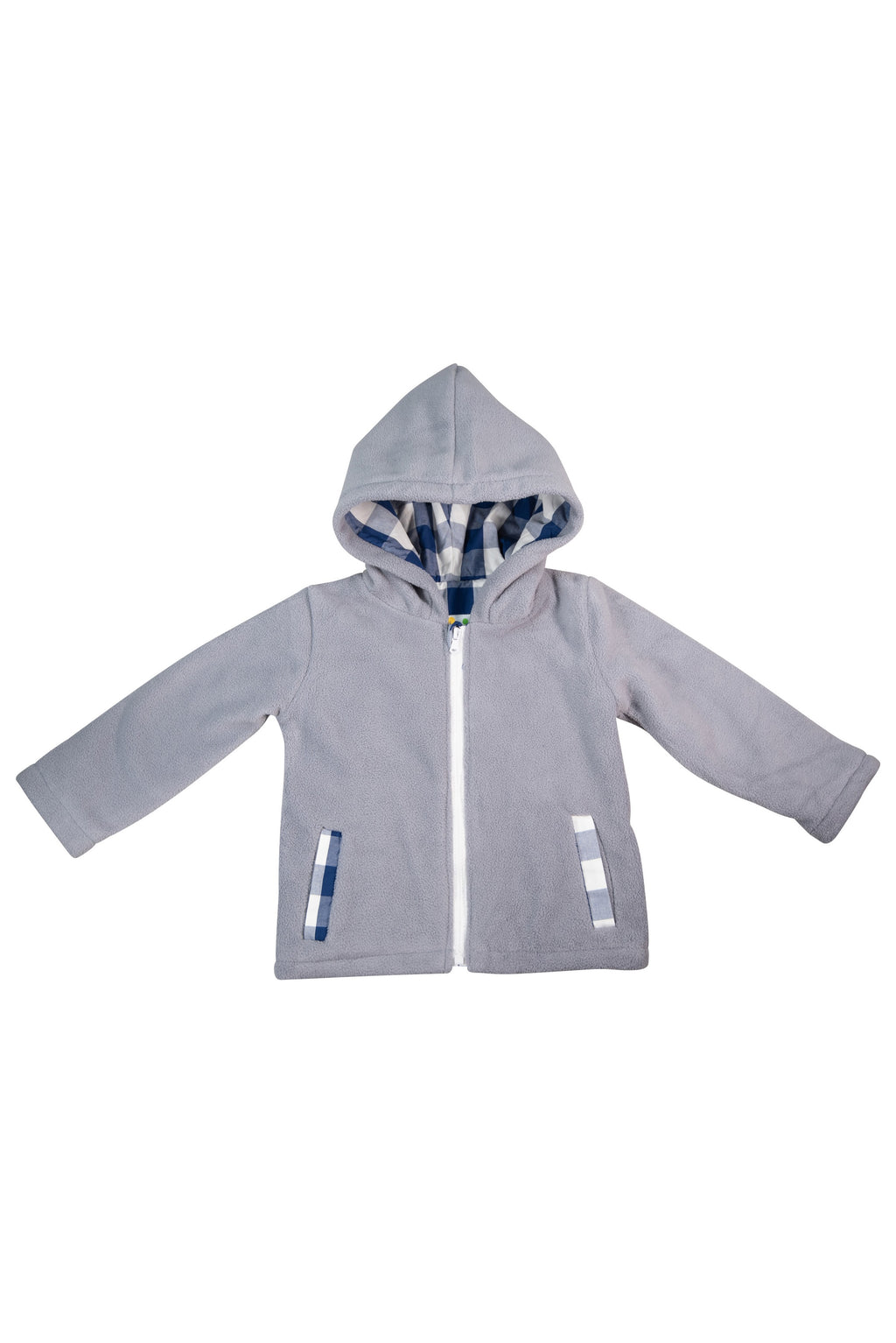 Boys Hooded Fleece Jacket