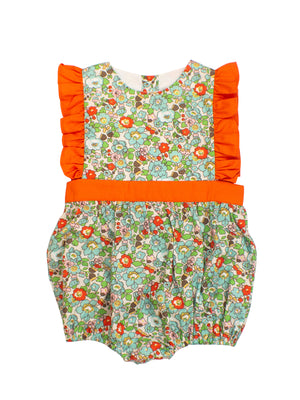 Girls Floral/Orange Bubble