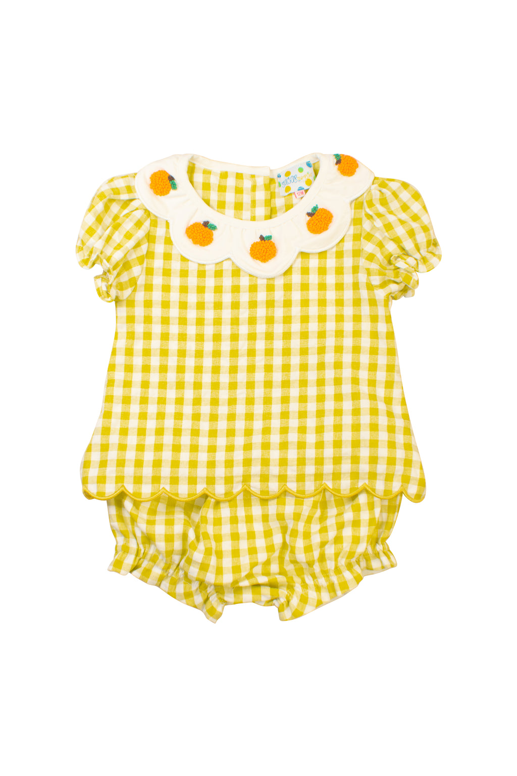 Girls Pumpkin Love Bloomer Set