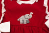 Girls French Knot Elephant Bloomer Set