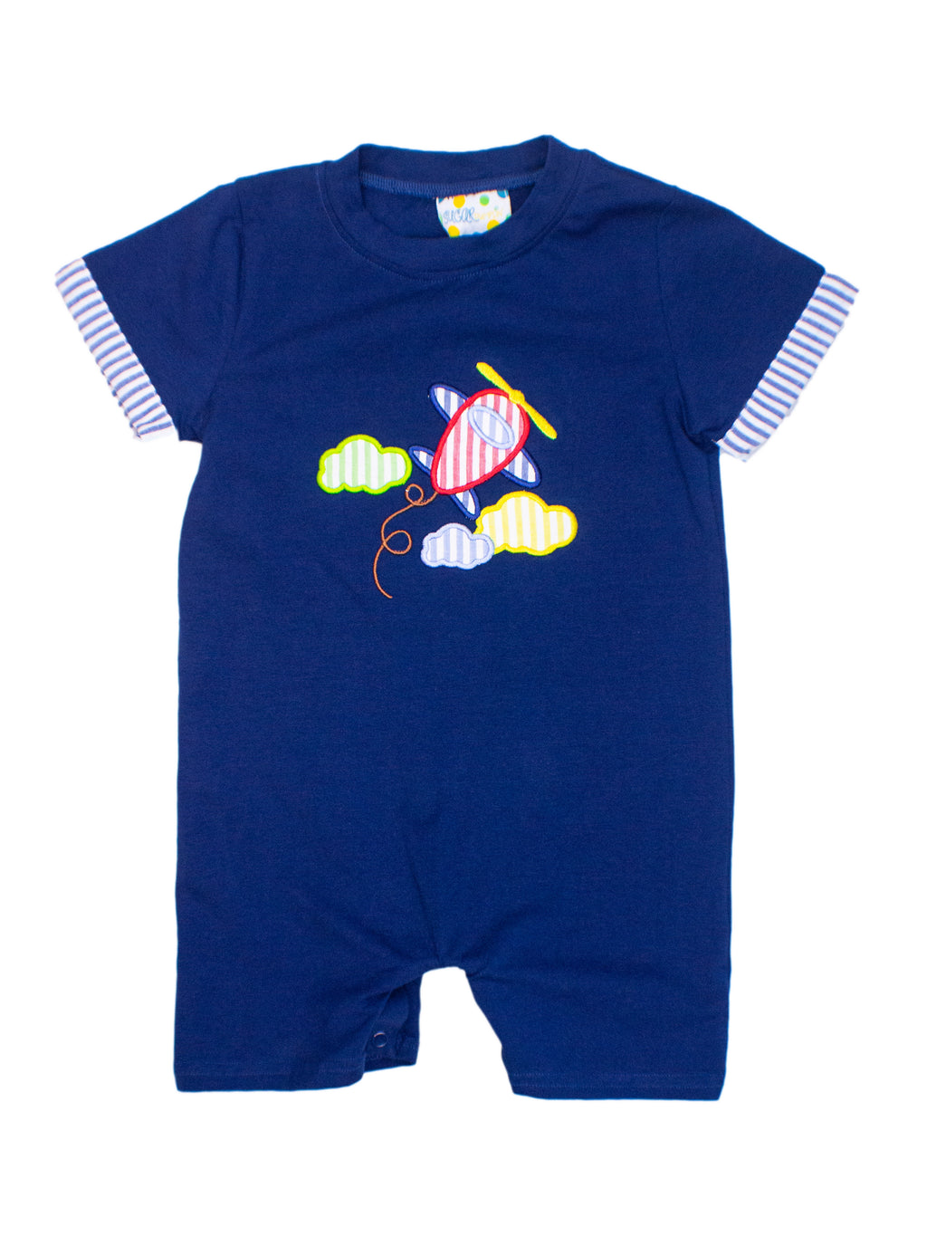 Boys Airplane Romper