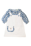 Girls Cotton Embroidered Jumper Set