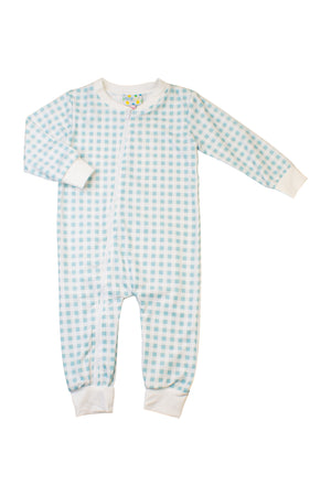 Boys Pumpkin Zip Up Flap PJ
