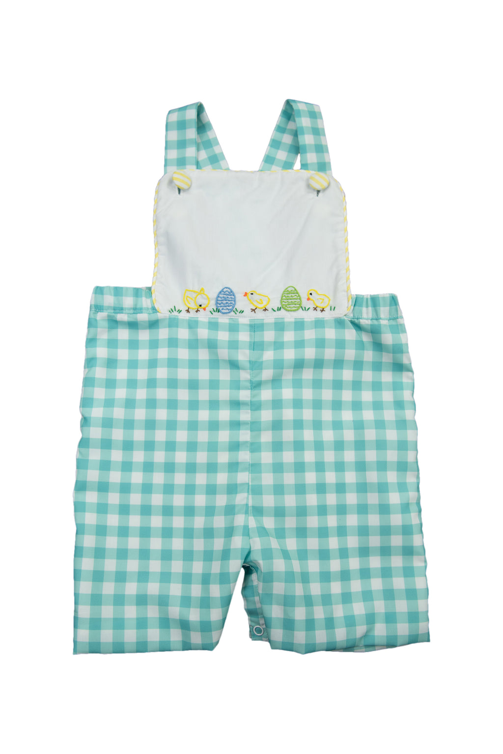 Boys Hand Embroidered Chicks Overall