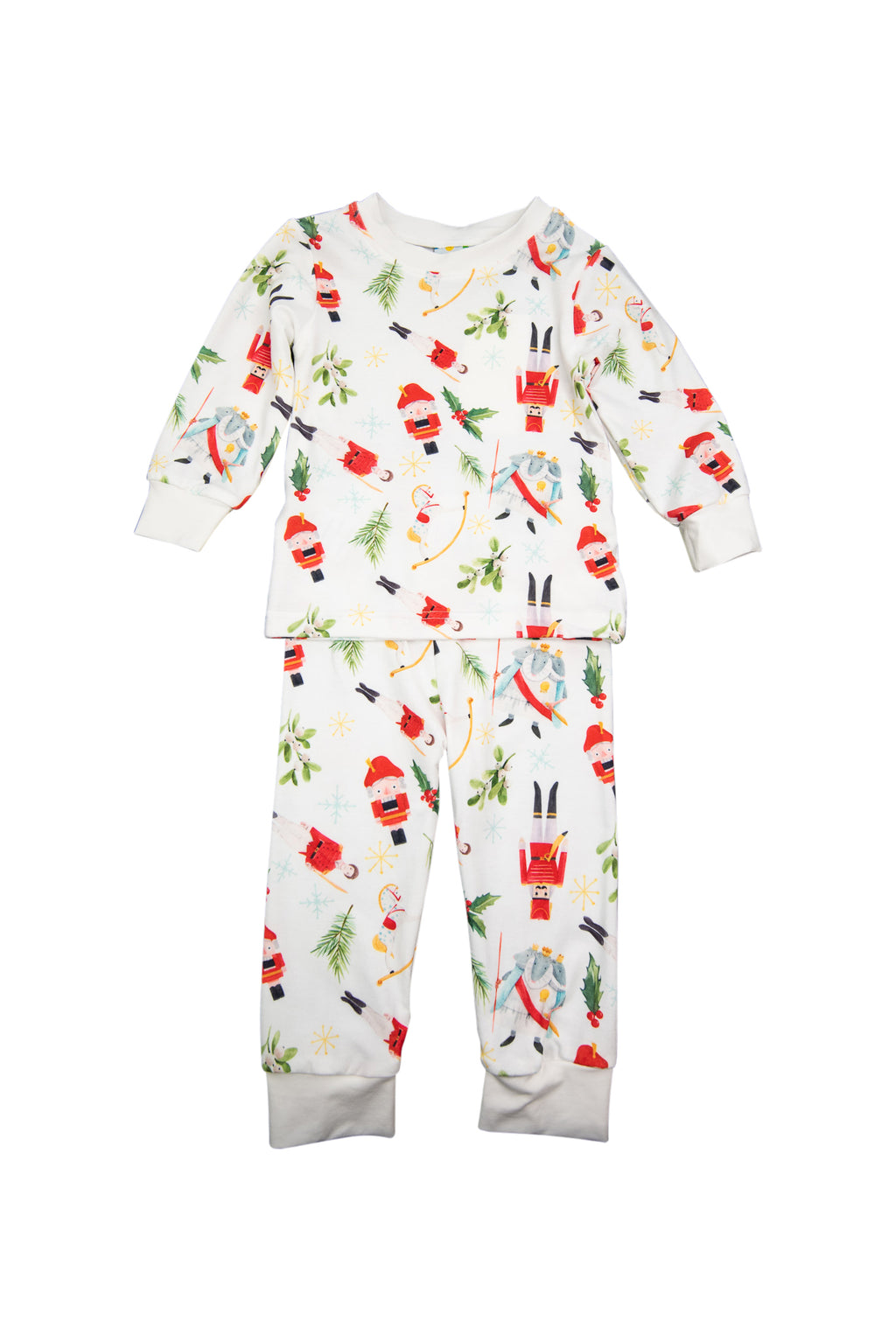 Boys Nutcracker Pajama Pants Set