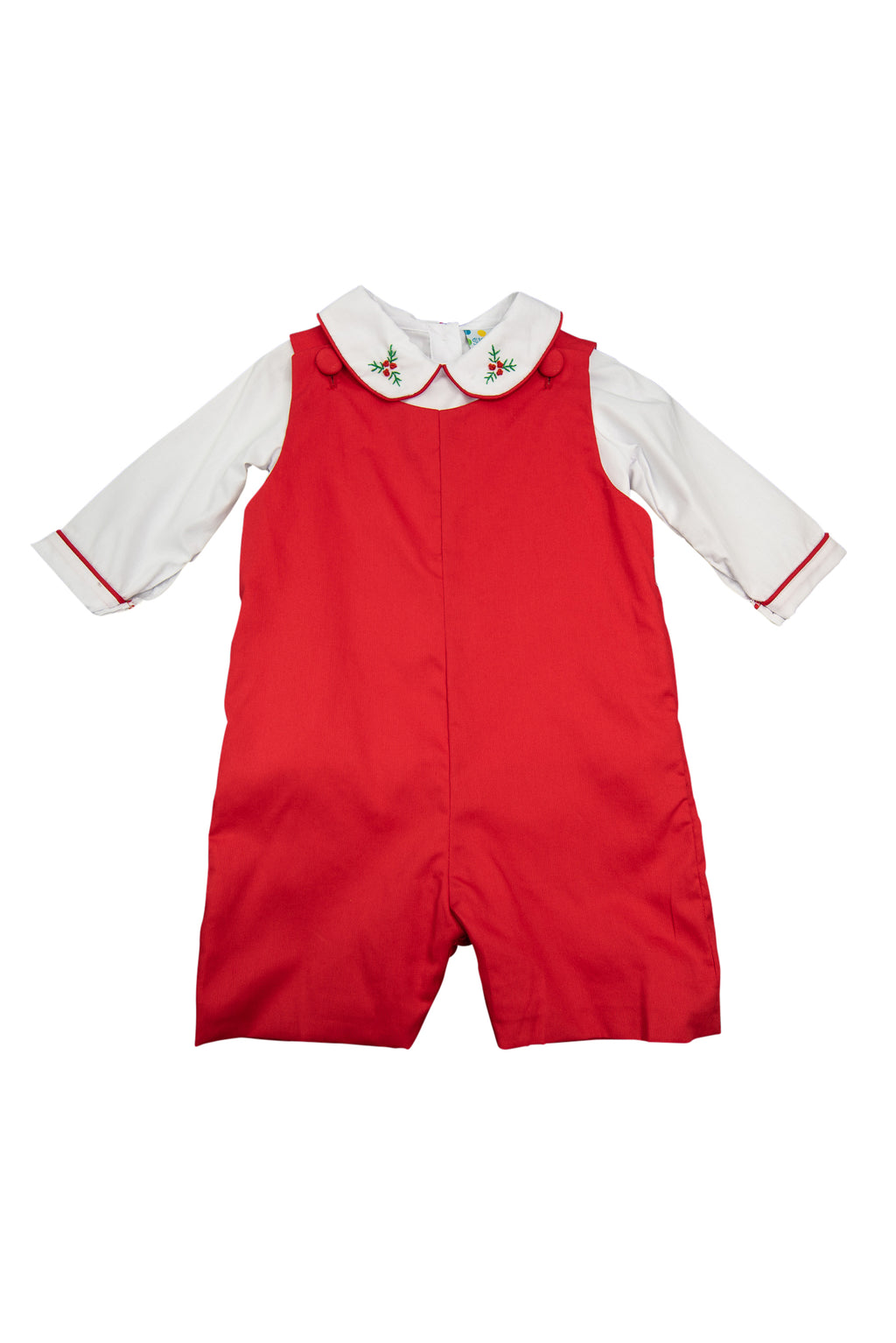 Boys White Holly Shortall Set