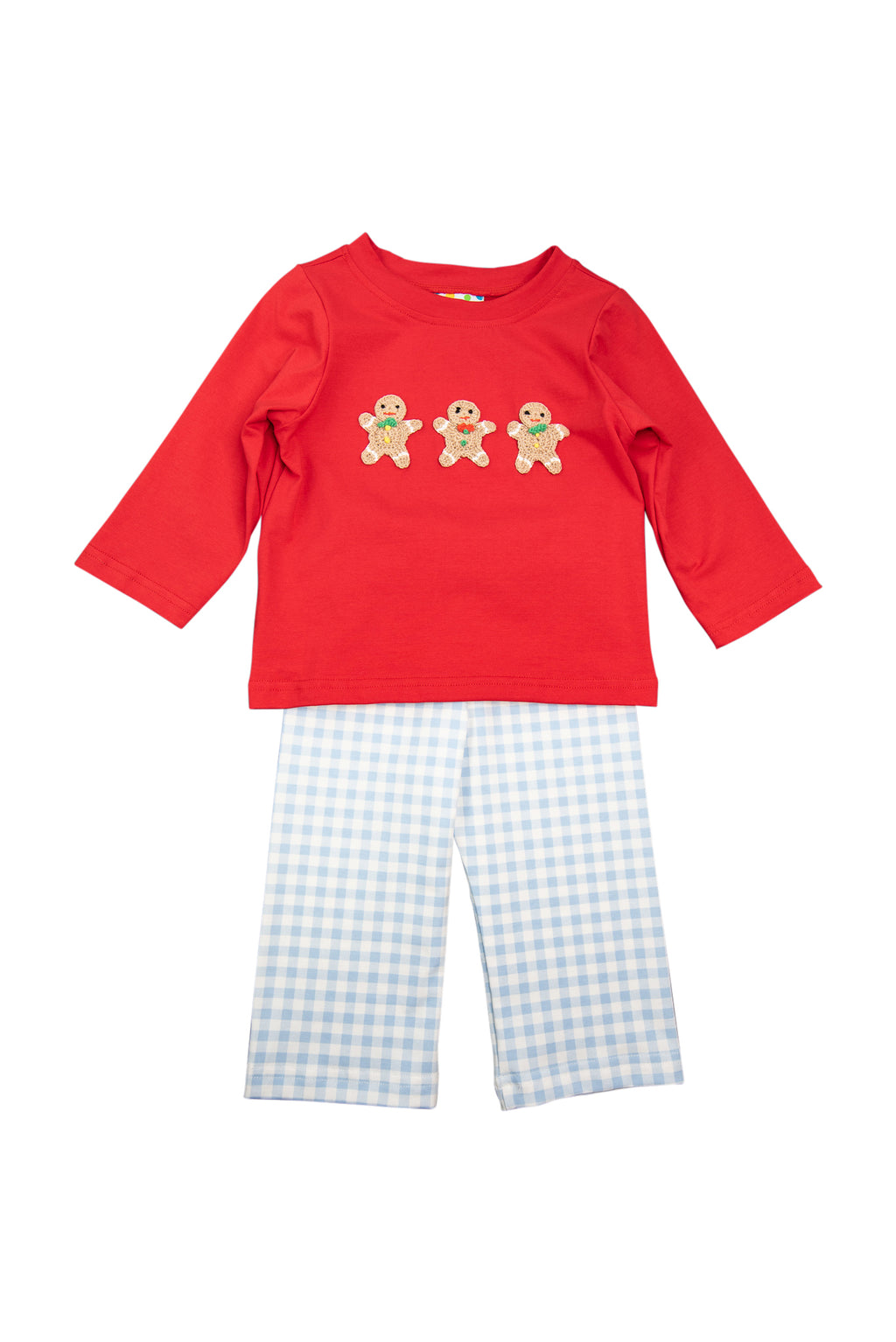 Boys Crocheted Gingerbread Pant Set