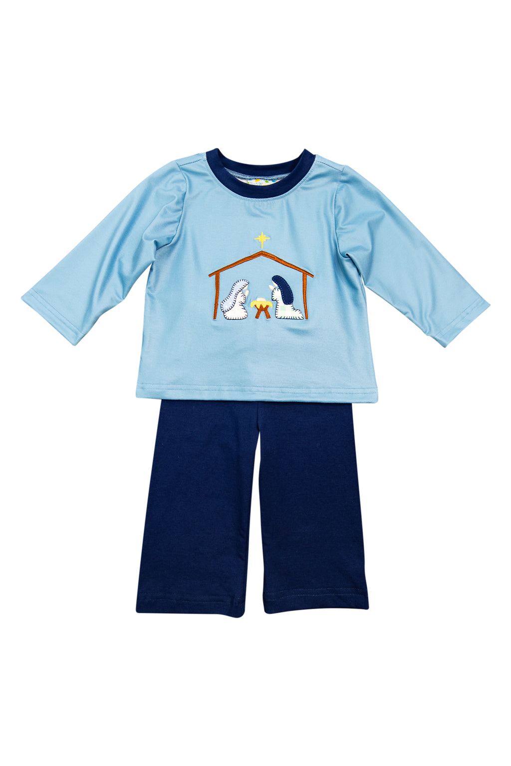 Boys Nativity Pant Set