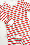 Mommy Red/Green Stripe Pajama Pants Set