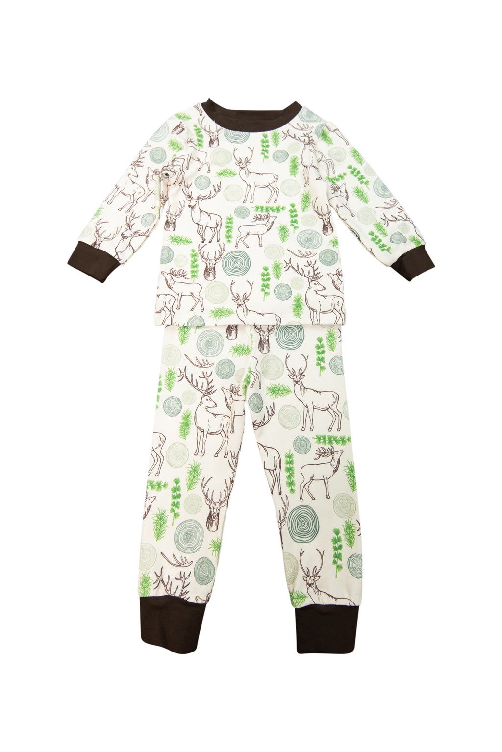 Boys Deer PJ Pant Set