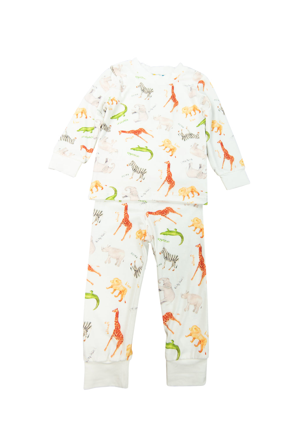 Boys Zoo Pj Pant Set