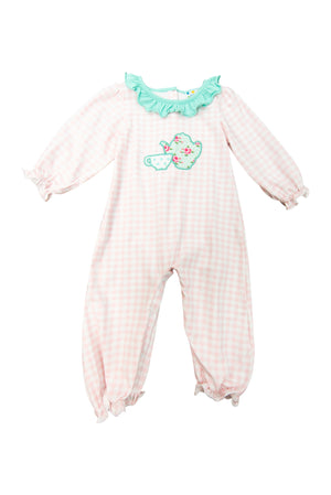 Girls Tea Party Romper