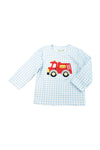 Boys Firetruck Shirt Only
