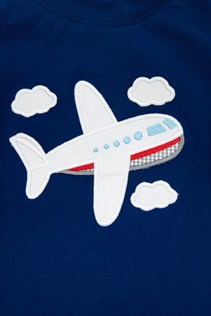 Boys Airplane Shirt Only