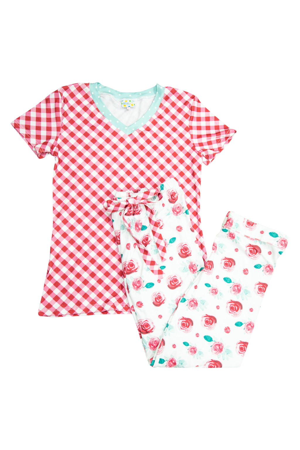 Mom's Winter Floral PJ Pant Set