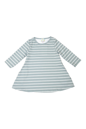 Mommy Sage Stripes Dress