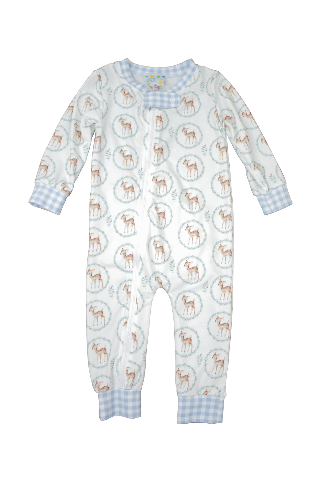 Deer Wreath Flap PJs