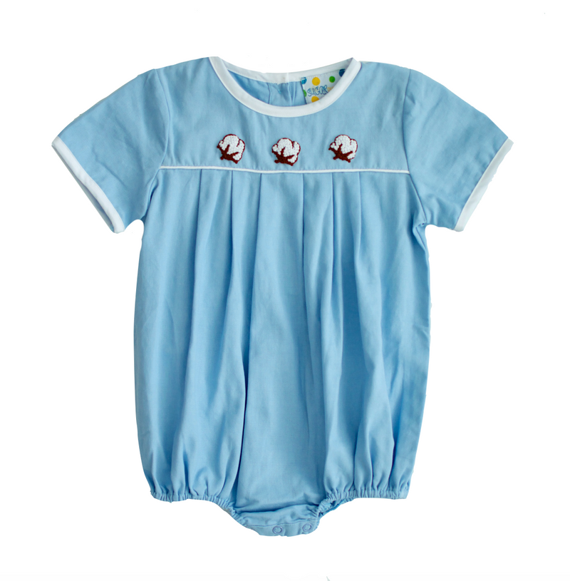 Boys French Knot Cotton Bubble