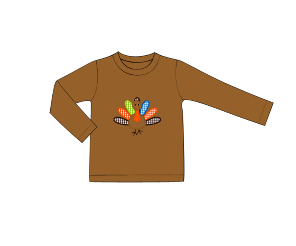 Boys Turkey Shirt Only