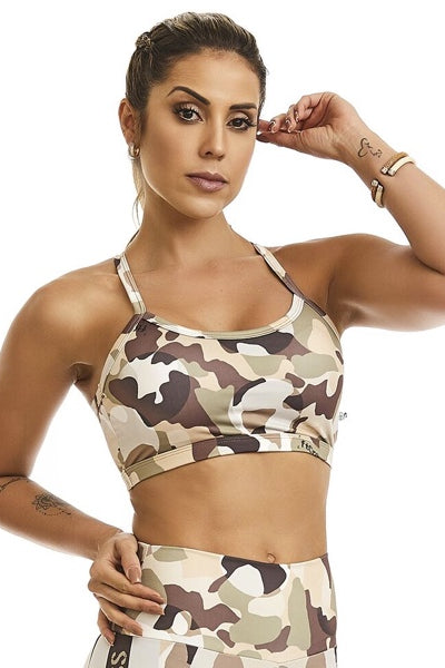 Fitness Bra Fit-Cross CajuBrasil