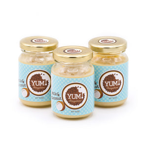 "Three ""Milk & Coconut"" Yum Jars"