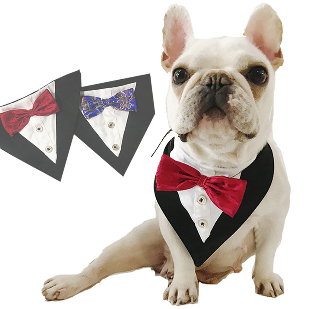 Dog Tuxedo with Bow - Pet Gear Solutions