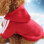 Side Striped Dog Hoodie - Pet Gear Solutions