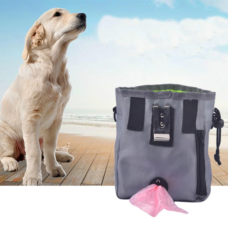 Dog Training Pouch with interactive Waste Bag