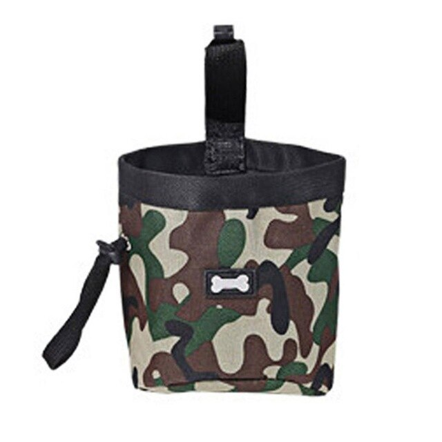 Camouflage Dog Treat Pouch