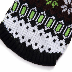 Winter Fair Isle/ Christmas Dog Sweater