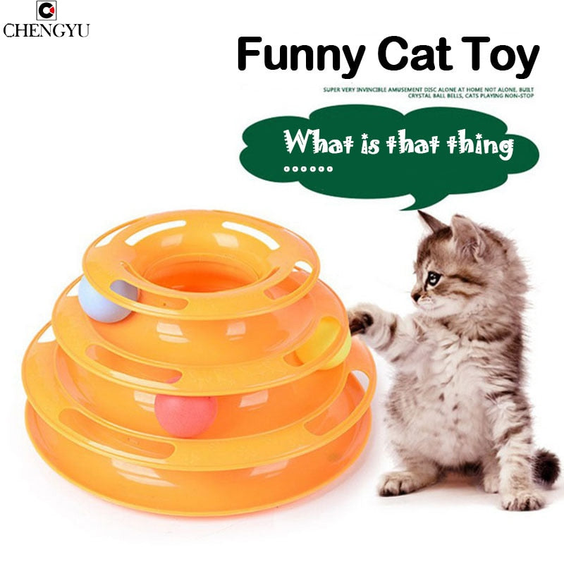 Amusement Intelligence Cat Toy - Pet Gear Solutions
