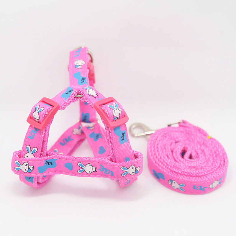 Printed Dog Harness Leash - Pet Gear Solutions