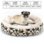 Geometric Print Pet Sofa Bed - Pet Gear Solutions