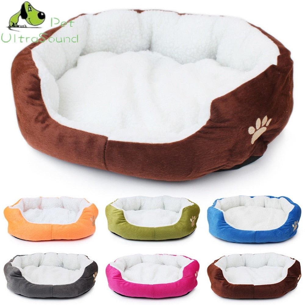 Round Dog Kennel Soft Bed - Pet Gear Solutions