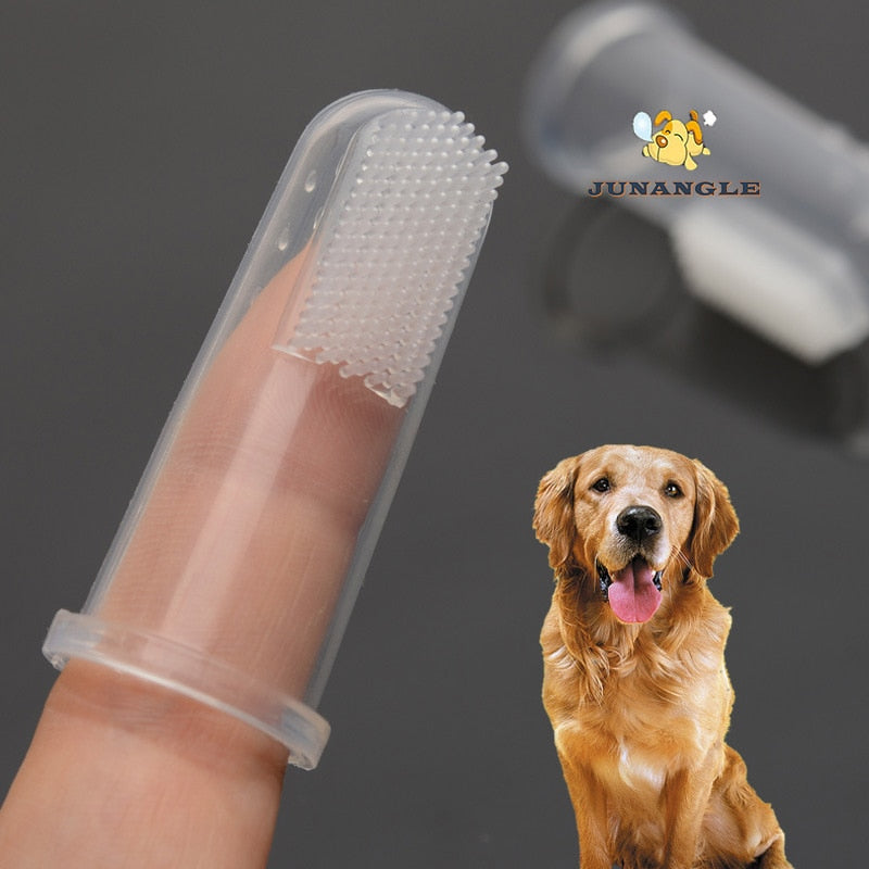 Silicone Latex Finger Dog Toothbrush - Pet Gear Solutions