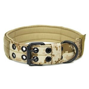 Tactical Training Pet Military Collar - Pet Gear Solutions