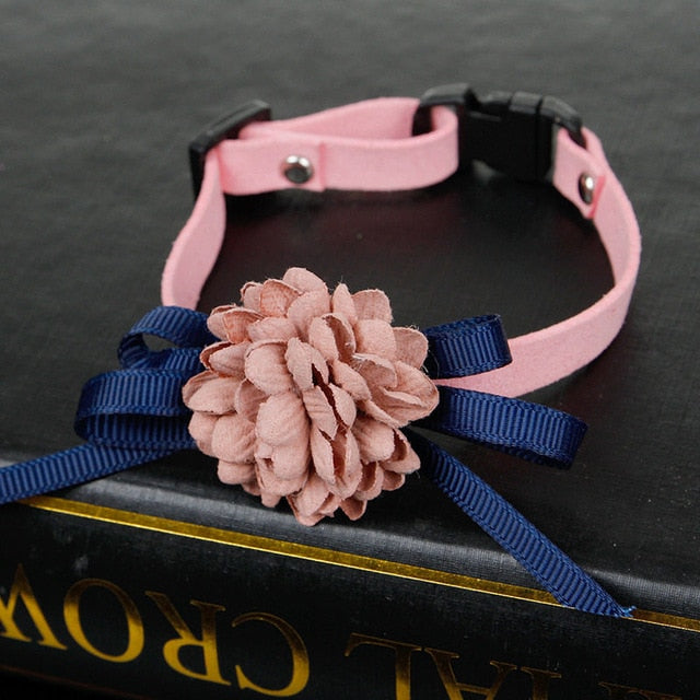 Adjustable Bowknot Dog Collar - Pet Gear Solutions
