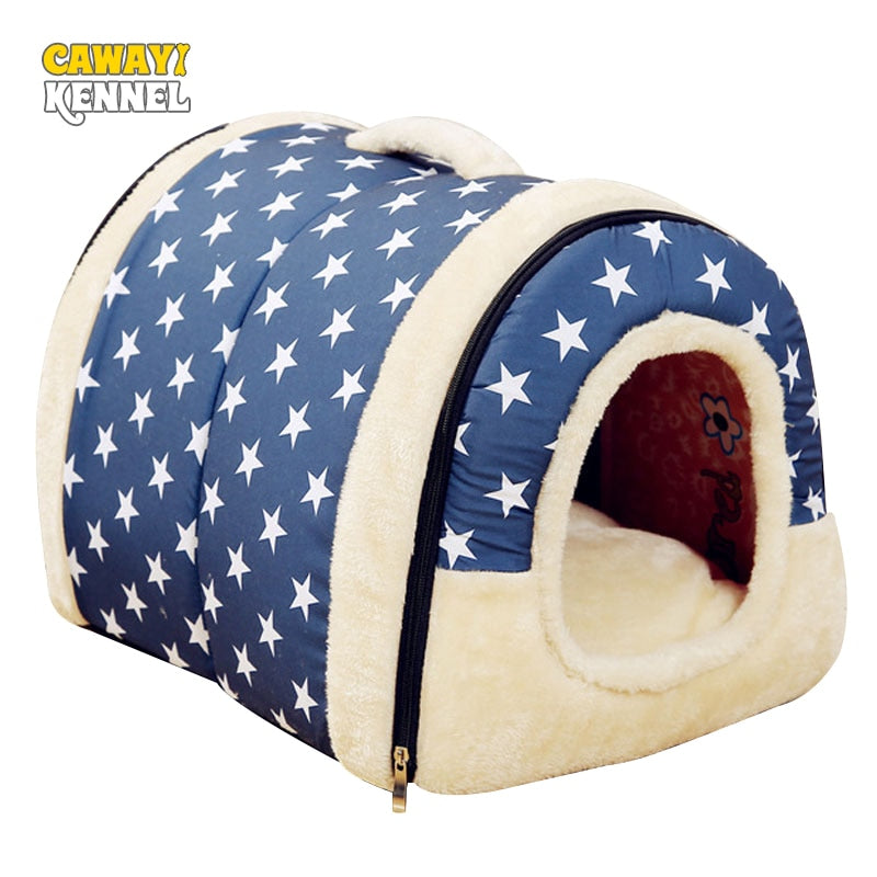 Eco-Friendly Pet Plushy House - Pet Gear Solutions
