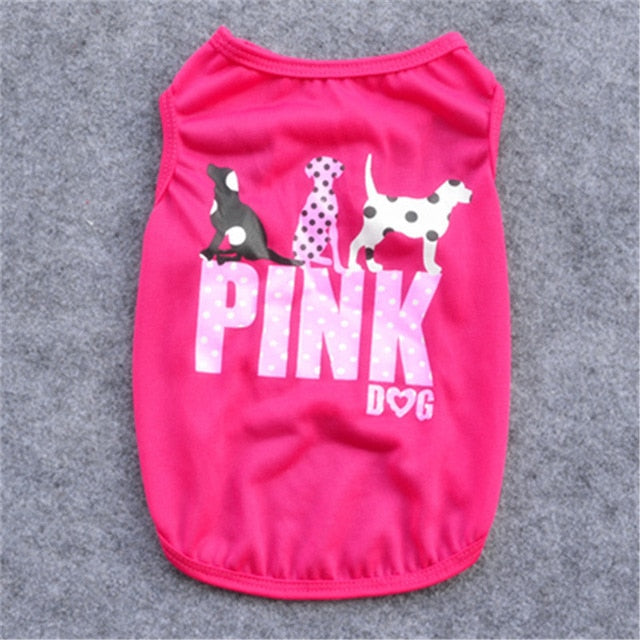 Printed Dog Shirt - Pet Gear Solutions