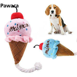 Ice Cream Interactive Dog Toy - Pet Gear Solutions