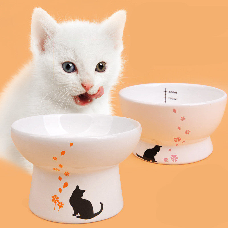 Ceramic Cat Bowl - Pet Gear Solutions