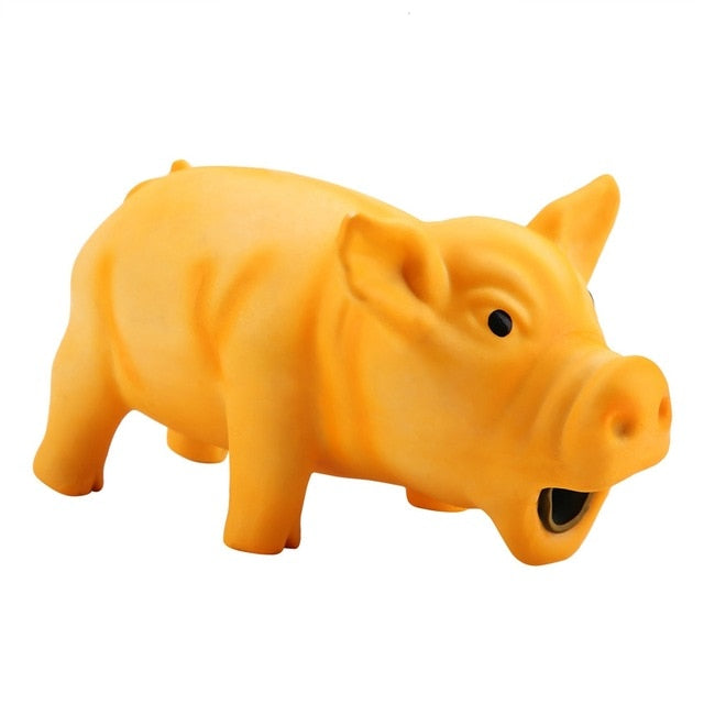 Pig Squeaky Dog Toy - Pet Gear Solutions