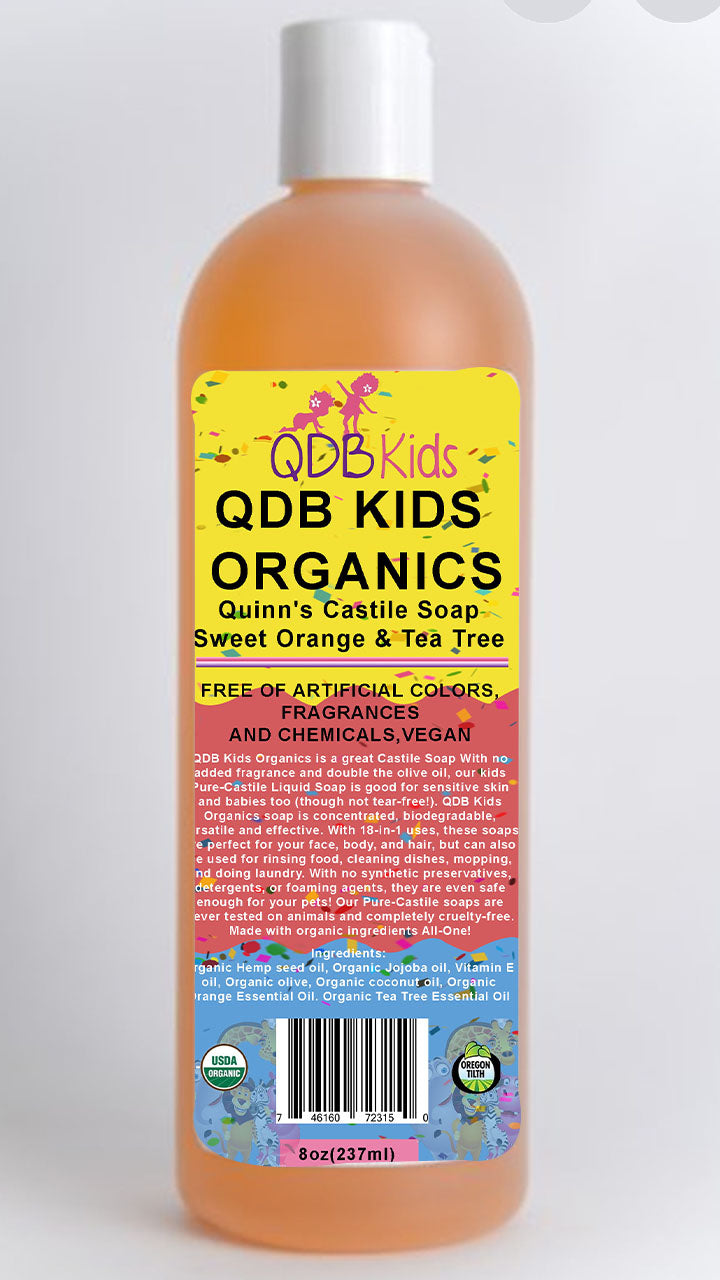 QDB Kids Organics Sweet Orange and Tea Tree