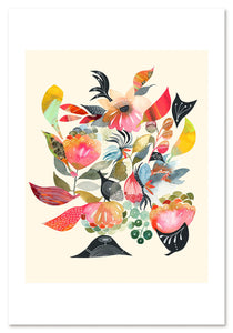 Glorious Garden Art Print